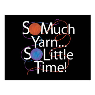 So Much Yarn Postcard
