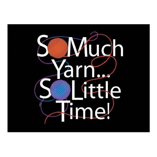 So Much Yarn Post Card