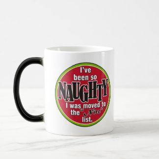 So Naughty 11 Oz Magic Heat Color-Changing Coffee Mug