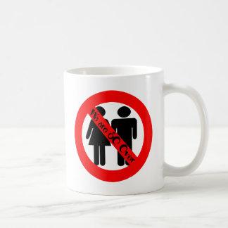 SO Over Break UP Basic White Mug