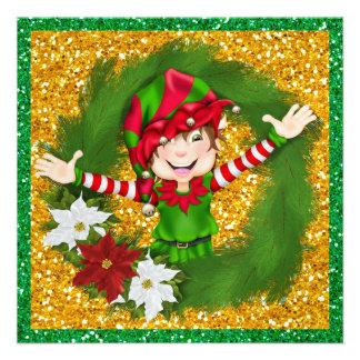 So Precious Christmas Elf Card SRF