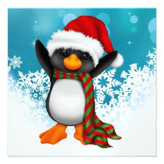 So Precious Christmas Penguin Card SRF