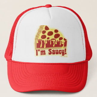 So Saucy Deep Pizza Trucker Hat