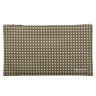 So-Sepia(c) Revision-Fabric-Sueded Med Cosmetic Cosmetic Bag