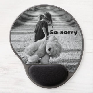 So sorry gel mouse pad