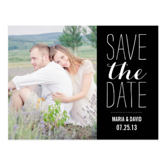 SO SWEET | SAVE THE DATE ANNOUNCEMENT POST CARDS
