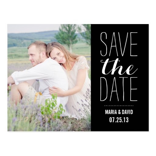 SO SWEET   SAVE THE DATE ANNOUNCEMENT POST CARDS