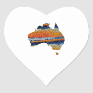 SO VAST AUSTRALIA HEART STICKER