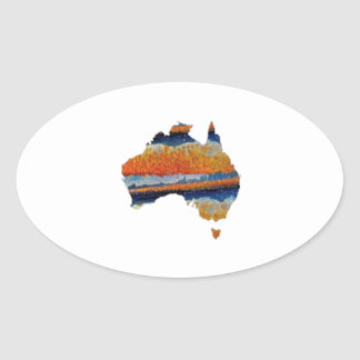 SO VAST AUSTRALIA OVAL STICKER