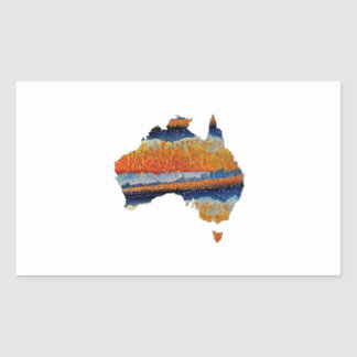 SO VAST AUSTRALIA RECTANGULAR STICKER