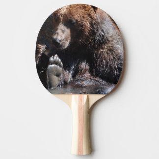 Soaking Bear Ping Pong Paddle