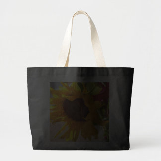 Soaking Up Some Sunflower - Jumbo Tote Bags