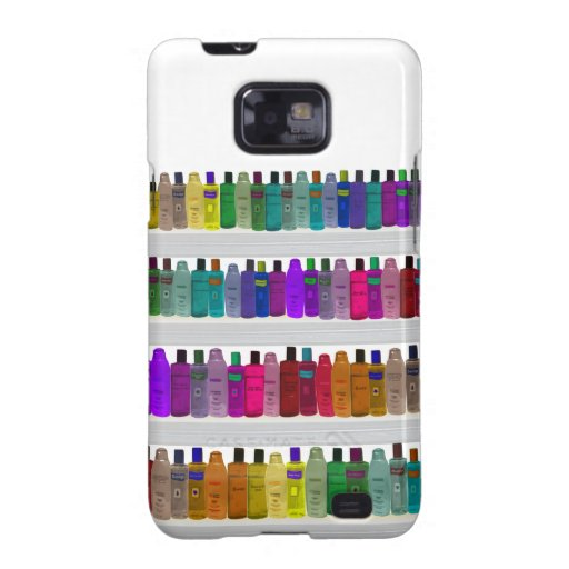 Soap Bottle Rainbow - for bathrooms, salons etc Samsung Galaxy S2 Cases