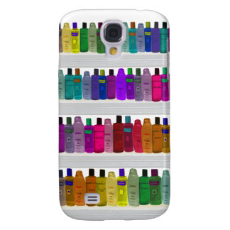 Soap Bottle Rainbow - for bathrooms, salons etc Galaxy S4 Cover
