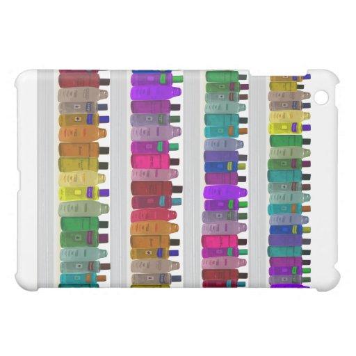 Soap Bottle Rainbow - for bathrooms, salons etc iPad Mini Cases