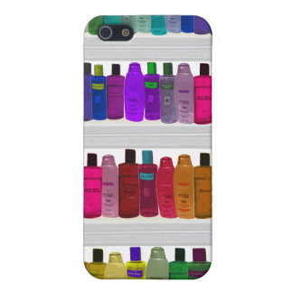 Soap Bottle Rainbow - for bathrooms, salons etc iPhone 5 Case