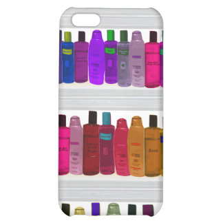 Soap Bottle Rainbow - for bathrooms, salons etc iPhone 5C Cases