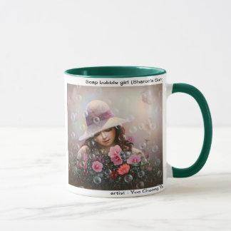 Soap bubble girl - Sharon's Song Mug
