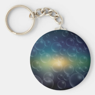 Soap Bubbles Key Ring