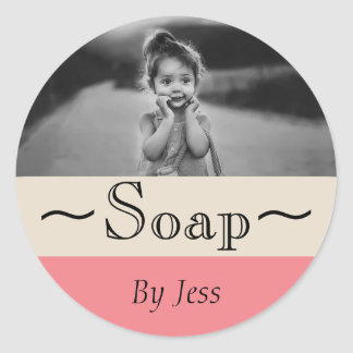 Soap Classic Round Sticker