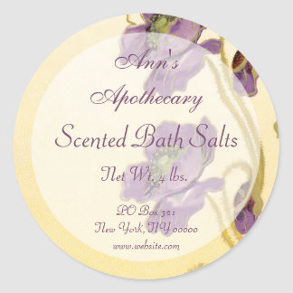 Soap Cosmetics Perfume Bath Products Gift Label -