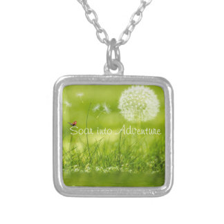 Soar into Adventure Silver Plated Necklace