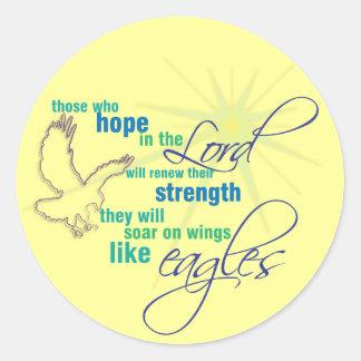 Soar on Wings Christian Scripture stickers