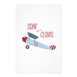 Soar Plane Stationery