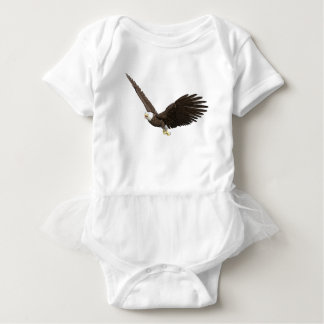 Soaring Bald Eagle Baby Bodysuit