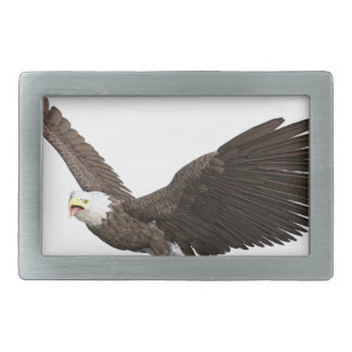 Soaring Bald Eagle Belt Buckles
