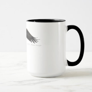 Soaring Bald Eagle - Coffee Mug