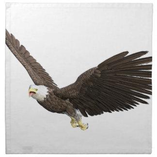 Soaring Bald Eagle Napkin