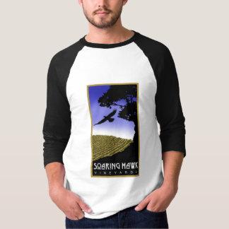Soaring Hawk Vineyards Baseball Shirt