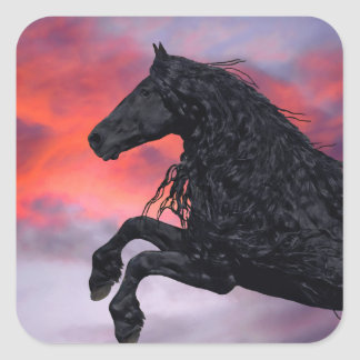 """Soaring""  Horse Stickers"