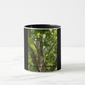 soaring nature scene honoring life mug