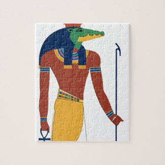 Sobek Crocodile  God Jigsaw Puzzle