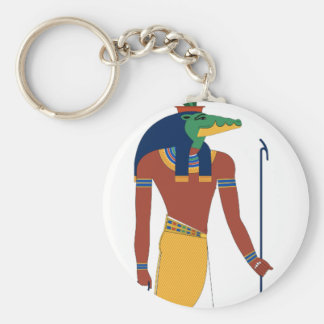 Sobek Crocodile  God Key Ring