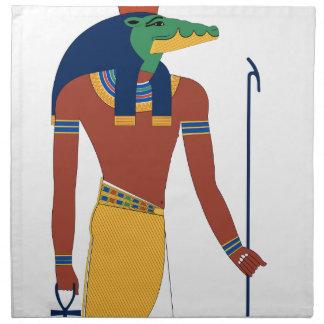 Sobek Crocodile  God Napkin