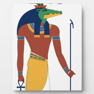 Sobek Crocodile  God Plaque