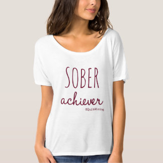 Sober Achiever Slouchy Boyfriend T-Shirt #5