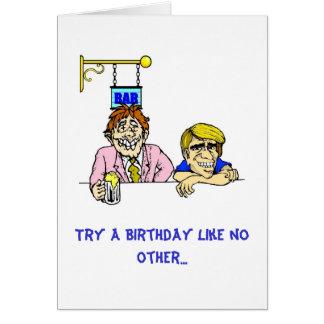 Sober Birthday Card