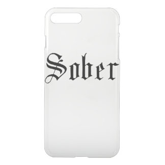 Sober. Gothic Print iPhone 8 Plus/7 Plus Case