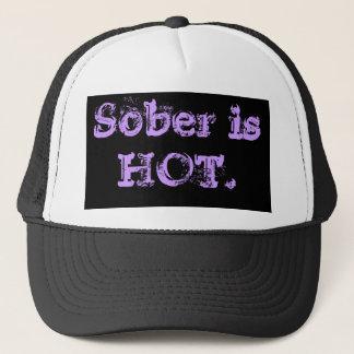 Sober is  HOT. Trucker Hat