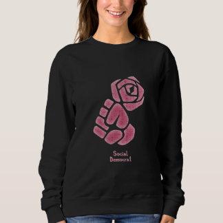 Soc Dem Rose Fist Sweatshirt