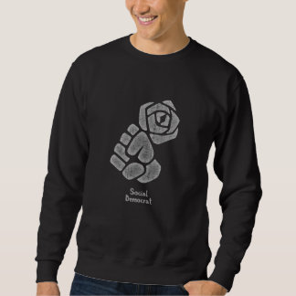 Soc Dem Rose Fist Sweatshirt