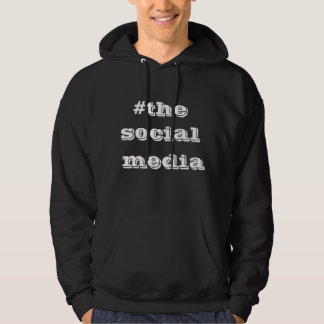 socal media basic hooded sweatshirt