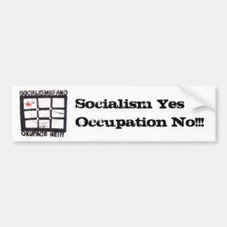 SocAnoOkNe (public domain) Bumper Sticker