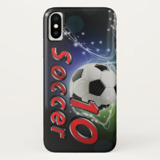 Soccer 10 iPhone x case