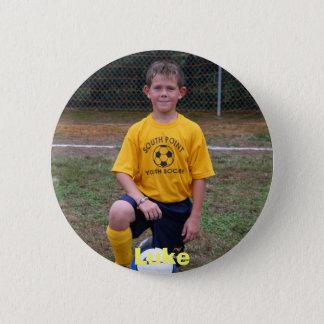 soccer 2006 001, Luke 6 Cm Round Badge