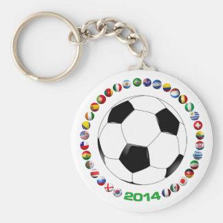 Soccer 2014  1523 keychain